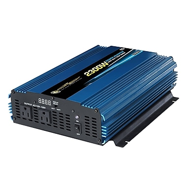Power Bright – Convertisseur continu-alternatif 12 volts PW2300-12, 2300 watts