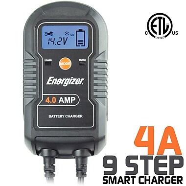Energizer – Chargeur et mainteneur de batterie ENC4A, 4 ampères