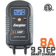 Energizer ENC8A 8 Amp Battery Charger and Maintainer