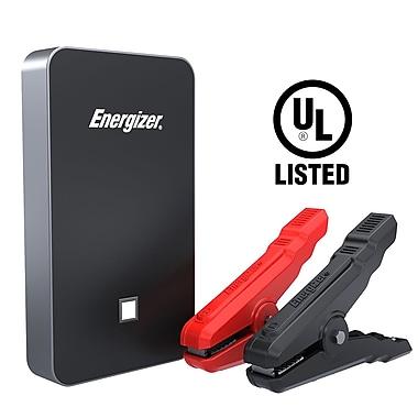 Energizer – Bloc d'alimentation au lithium ENX8K pour démarrage de secours, homologué UL, 7500 mAh, noir