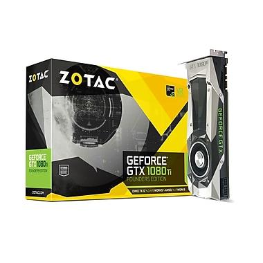 ZOTAC - Carte pour graphiques GeForce GTX 1080Ti Founders Edition, 11 Go GDDR5X (ZT-P10810A-10P)
