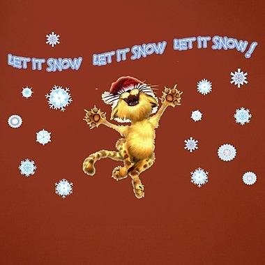 Wallhogs Let It Snow Kitty! Wall Decal