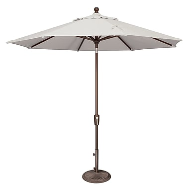 SimplyShade Catalina 9' Market Umbrella; Sunbrella / Natural