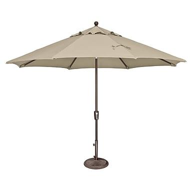 SimplyShade Catalina 11' Market Umbrella; Sunbrella / Antique Beige