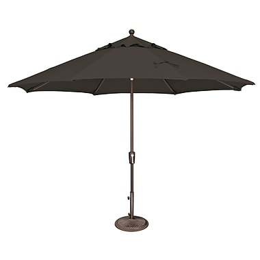 SimplyShade Catalina 11' Market Umbrella; Solefin / Black
