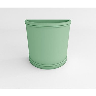TerraCastProducts Half Resin Pot Planter; Mint