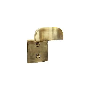 RCH Supply Company Brass Buffered Wall Mounted Hook; Polished Brass