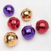 Frantic Fern Set of 6 Metallic Ball Ornaments