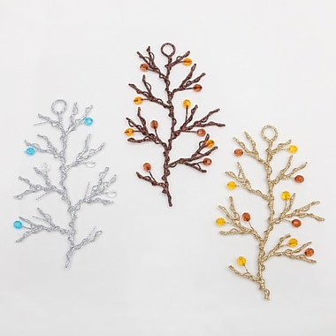 Frantic Fern Branch Wire Ornaments (Set of 3)