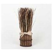 Frantic Fern Dried Grass Bunch Decor; Brown
