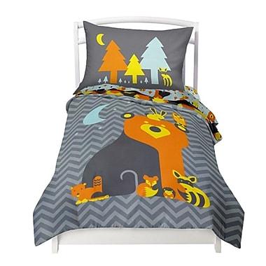 Where the Polka Dots Roam Woodland Creatures 2 Piece Twin Comforter Set