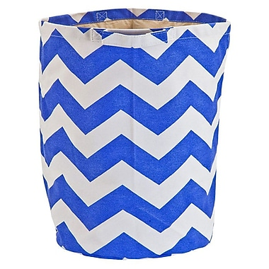 CB Station Chevron Laundry Hamper