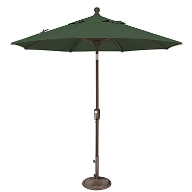 SimplyShade Catalina 7.5' Market Umbrella; Sunbrella / Forest Green