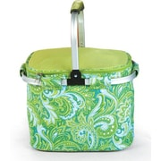 Picnic Plus by Spectrum Shelby Collapsible Thermal Foil Insulated Market Tote Picnic Cooler
