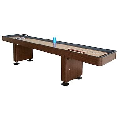 Hathaway™ Challenger 9' Deluxe Shuffleboard Table, Walnut