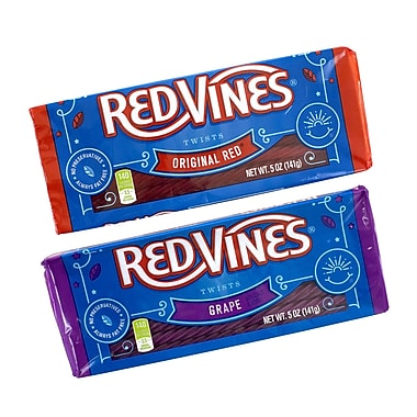 Red Vines Variety Tray Box, 5 oz, 6 Count