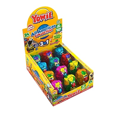 Yowie Chocolates All American Collection, 12 Count