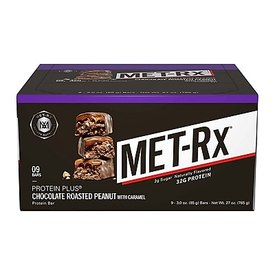MetRX Protein Plus Chocolate Roasted Peanut, 3 oz, 9 Count