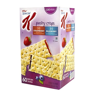 Special K Pastry Crisps Blueberry and Strawberry, 60 Count