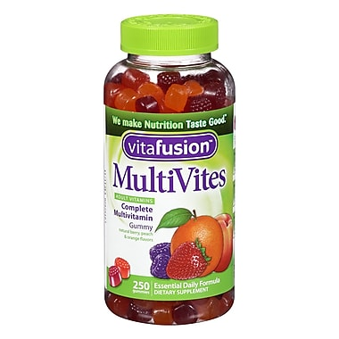 Vitafusion MultiVites Complete Multivitamin Gummies for Adults, 250 Count