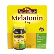 Nature Made Melatonin, 5mg, 250 Count