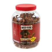 Milk-Bone® Dog Treats Soft & Chewy Beef, 37 oz. Canister (50962)