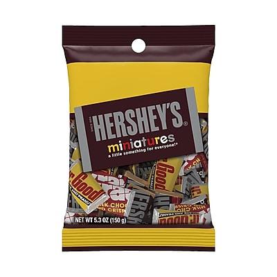 Hershey's Miniatures Assortment, 5.3 oz, 12 Count