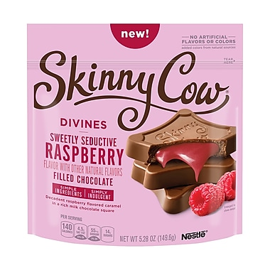 Skinny Cow Divines Raspberry Filled Chocolates, 5.3 oz, 3 Pack