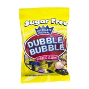 Dubble Bubble Sugar-Free Bubble Gum, 3.25 oz, 12 Count