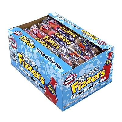 Dubble Bubble Fizzers Gumball, 7 Count, 24 Pack