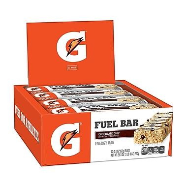 Gatorade Prime Fuel Bar Chocolate Chip, 2.1 oz, 12 Count
