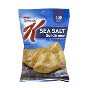 Kellogg's Special K Cracker Chips Sea Salt, 0.8 oz, 36 Count