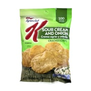 Kellogg's Special K Cracker Chips Sour Cream & Onion, 0.8 oz, 36 Count