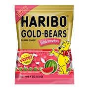 Haribo Gold-Bears Watermelon, 4 oz, 12 Count