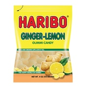 Haribo Ginger Lemon, 5 oz, 12 Count