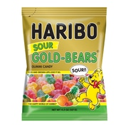 Haribo Sour Gold-Bears, 4.5 oz, 12 Count