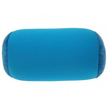 Deluxe Comfort Microbead Neck Roll Bolster Pillow; Dark Dark Blue