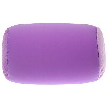 Deluxe Comfort Microbead Neck Roll Bolster Pillow; Light Purple