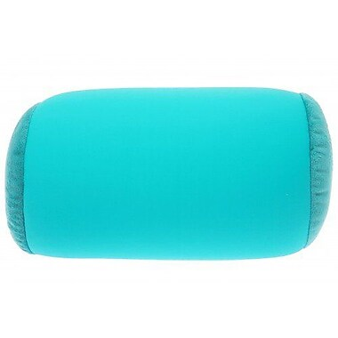 Deluxe Comfort Microbead Neck Roll Bolster Pillow; Teal