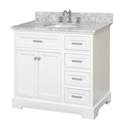 KBC Aria 36'' Single Vanity Set; White