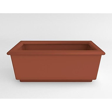 TerraCastProducts Roma Resin Planter Box; Mexican Chili