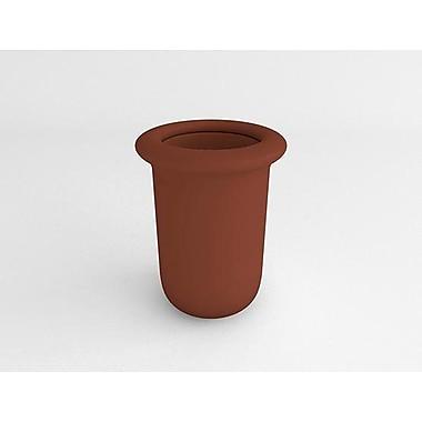 TerraCastProducts Resin Pot Planter; Rust Brown