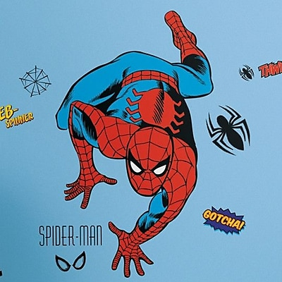 Wallhogs Marvel Comics Spiderman Classic Wall Decal WYF078278160726