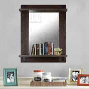 Hobbitholeco. 30'' X 38'' Mirror w/ Shelf