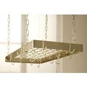 Rogar Pot Rack; Bronze / Brass