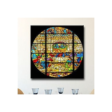 Ready2hangart 'The Last Supper' by Bruce Bain Graphic Art on Canvas; 12'' H x 12'' W x 1.5'' D
