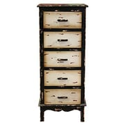 Essential Decor & Beyond 5 Drawer Cabinet