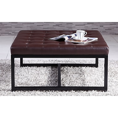 NOYA USA Metal Bench; Brown