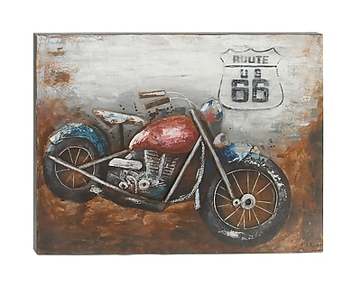 Cole & Grey 'Route 66' Painting Print on Canvas