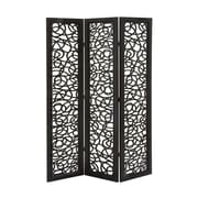 Cole & Grey 72'' H 48'' W Traditional 3 Panel Room Divider